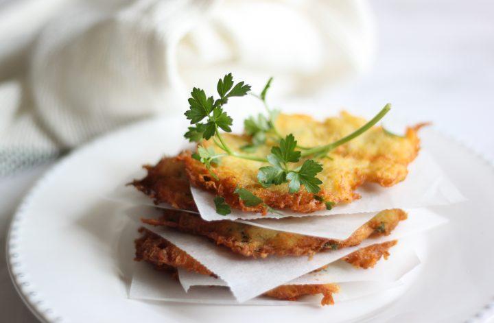 latkes de patata